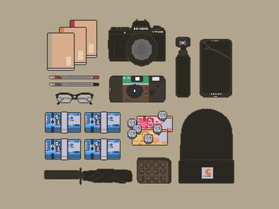 Pixel Essentials Vol. 1 design pixel artist pixel dailies pixel art pixel