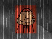 Rain is like a prison