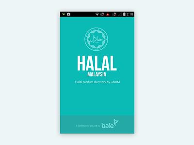 Halal Mobile App mobile app branding