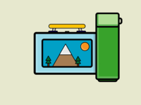 My Month In Icons: Day 21 -- Pack Your Lunch