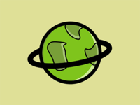 My Month In Icons: Day 23 -- Little Green Dot