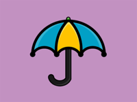 My Month In Icons: Day 24 -- Umbrella