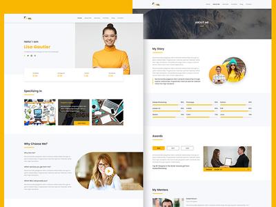 Raisa - Personal Portfolio Website