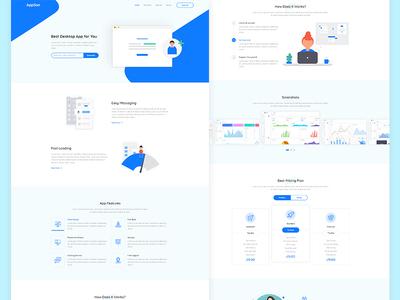 App Landing Page (Freebie)