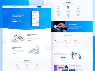 AppSinia - App Landing Page