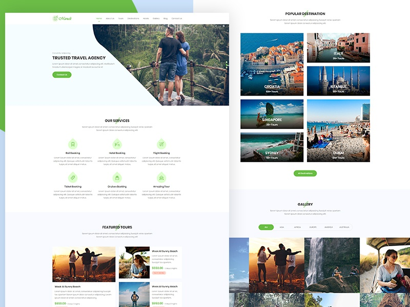 Manali - Tour & Travels Agency Template vacation trip travel agency travel tourism tour package tour booking tour and travel tour top destination responsive hotel cruises creative agency