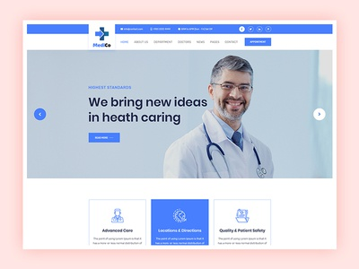 Medico - Medical/Clinic Website