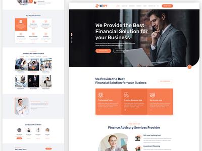 Wehpy - Finance & Banking Website