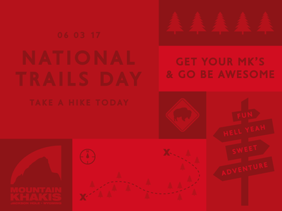 National Trails Day - Mountain Khakis