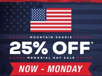 Memorialday email preview