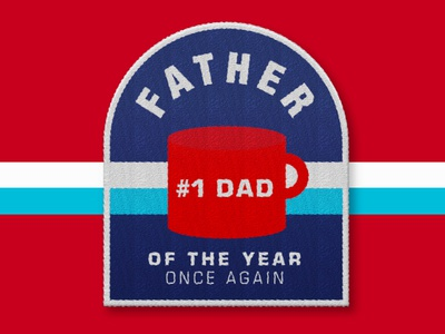 Father's Day Patch