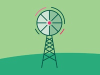 Beer icon windmill