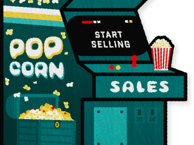 Popcorn Sales Patch - Pt. 2