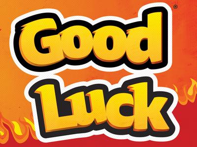"""Good Luck"" Cheetos Card"