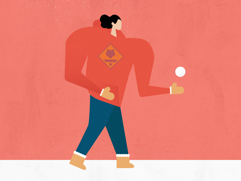 Dribbble holiday illustrations red 800x600