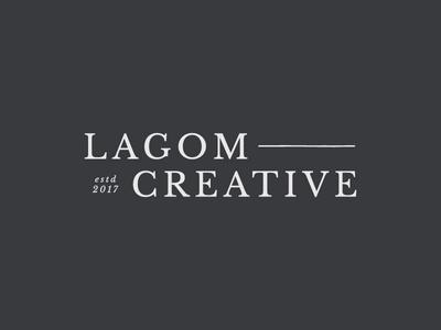 Lagom Creative Primary Logo