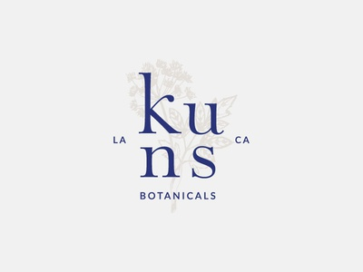 Kuns Botanicals - Illustrated Logo