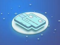 Payment Isometric Icon