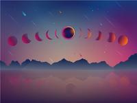Eclipse Illustration