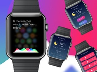 Weather iOS watch using inVsionStudio