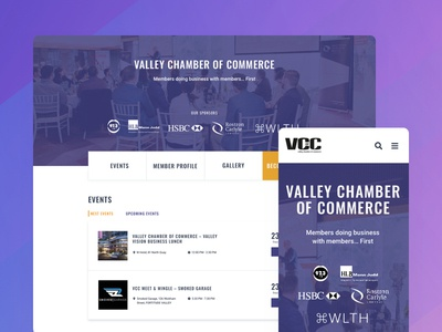 Valley Chamber of Commerce Website Exporation brisbane australia responsive shremal uidesign sketch ui design mobile website