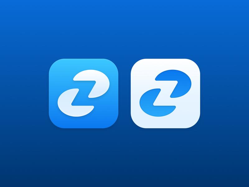Zonzon Application Icon branding logo design ios icon