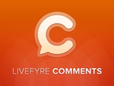 Livefyre Comments livefyre logo comments identity orange