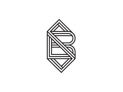 BS Monogram vector branding icons illustrator logo design illustration monogram logo