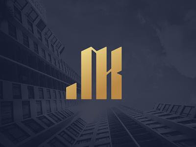 JK Monogram commercial illustration realestate realtor illustrator buildings monogram