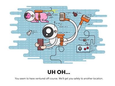 404 Illustration illustrator illustration hundred10 404