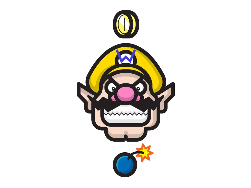 Wario illustrator wario illustration video games