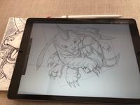 Gabumon Sketch