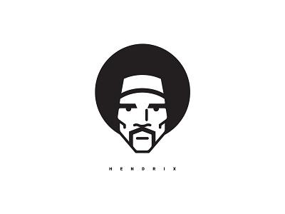 Jimi Hendrix music guitar portrait illustrator illustration