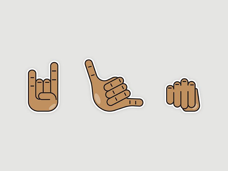Emoji Stickers sticker emoji iconography icon daily icon challenge ui
