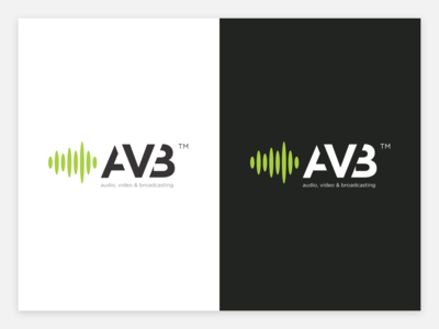 AVB - Audio, Video, Broadcasting Company Logo