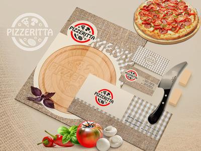 Pizzeritta Branding