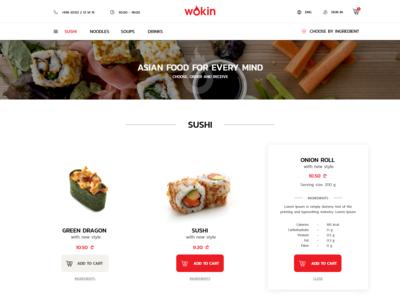Asian cuisine website