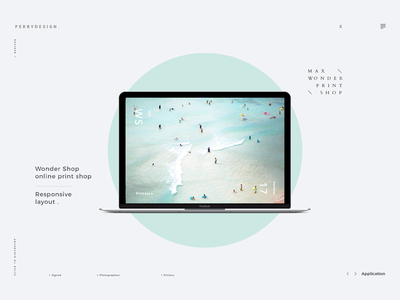 The new possibility of web design responsive layout photoshop typography graphic website web