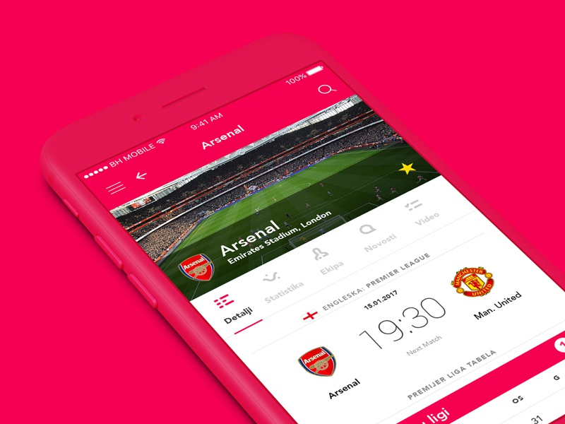 Dribbble arsenal thumb