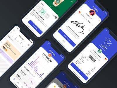 Payment Process UI dark mode dark ui animation ios design mobile flat modern app clean ux ui