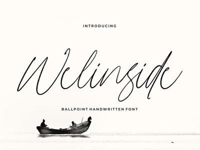 Free Welinside Signature Font