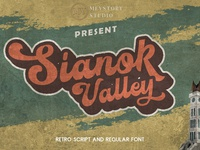 Free Sianok Valley Retro Font