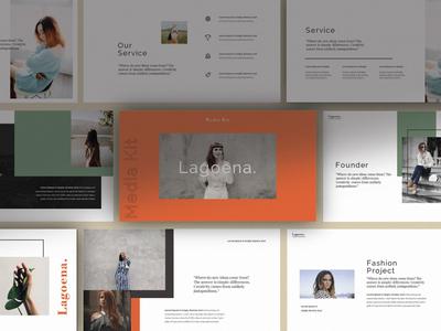 Free Lagoena Brand Presentation Template