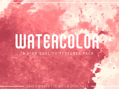Watercolor Free Textures Pack