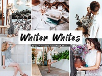 Whiter Whites Mobile & Desktop Lightroom Presets minimalistic matte magazine lightroom light instagram insta hdr fresh film exclusive colorful color cinematic bright blog beautiful artistic art