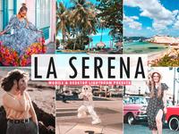 Free La Serena Mobile & Desktop Lightroom Presets minimalistic matte magazine lightroom light instagram insta hdr fresh film exclusive colorful color cinematic bright blog beautiful artistic art