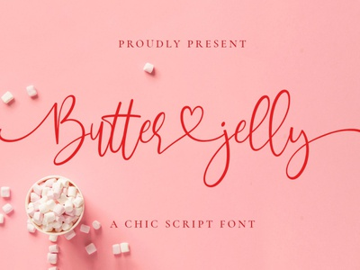 Free Butter Jelly Script Font sans serif printed print poster modern lettering inked ink hipster font family fashion dry brush display fonts display cursive cool classy brush font brush bold