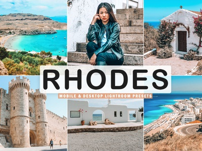 Free Rhodes Mobile & Desktop Lightroom Presets modern lr presets lightroom cc lightroom instagram hipstar halftone gym graphic gradient map gradient filter effect duotone duo tone dual colorful color grading blend background
