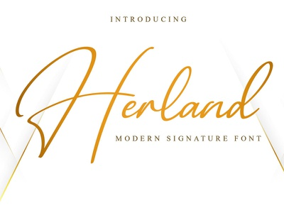 Free Herland Signature Font photography modern minimalist logo ligature invitation handwritten handlettering gorgeous fresh feminine fancy elegant couple clean calligraphy business branding bestseller beauty