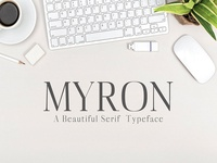 Myron Serif 6 Fonts Family Pack